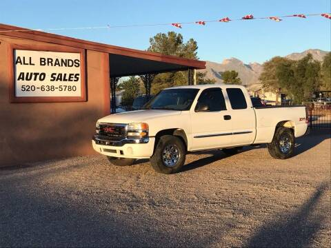 2004 GMC Sierra 1500 for sale at All Brands Auto Sales in Tucson AZ