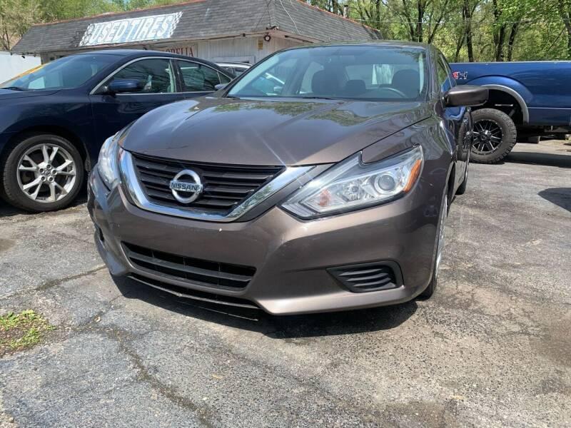 2016 Nissan Altima for sale at Morelia Auto Sales & Service in Maywood IL