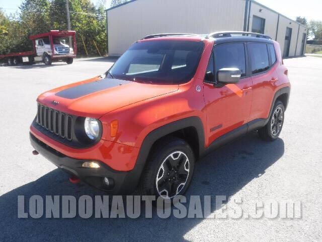 2017 Jeep Renegade for sale at London Auto Sales LLC in London KY