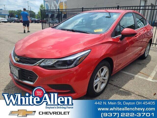 2017 Chevrolet Cruze for sale at WHITE-ALLEN CHEVROLET in Dayton OH