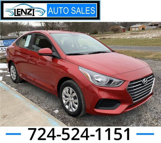 2019 Hyundai Accent for sale at LENZI AUTO SALES in Sarver PA