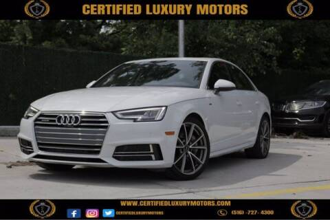 2017 Audi A4 for sale at Certified Luxury Motors in Great Neck NY