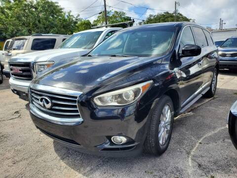 2013 Infiniti JX35 for sale at H.A. Twins Corp in Miami FL