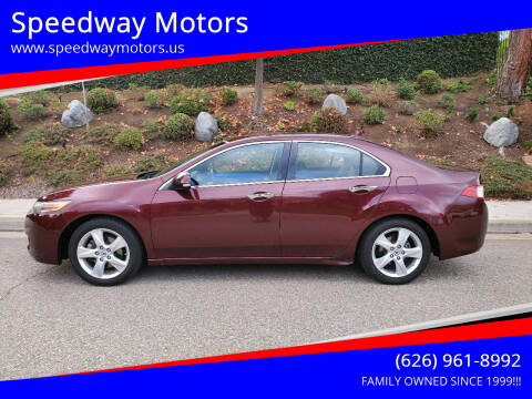 2010 Acura TSX for sale at Speedway Motors in Glendora CA