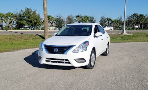 2016 Nissan Versa for sale at FLORIDA USED CARS INC in Fort Myers FL