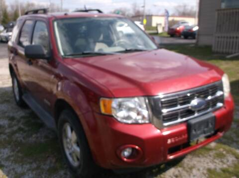 2008 Ford Escape for sale at Straight Line Motors LLC in Fort Wayne IN