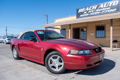 2004 Ford Mustang for sale at Beach Auto and RV Sales in Lake Havasu City AZ