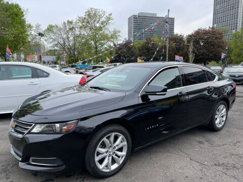 2017 Chevrolet Impala for sale at JOANKA AUTO SALES in Newark NJ