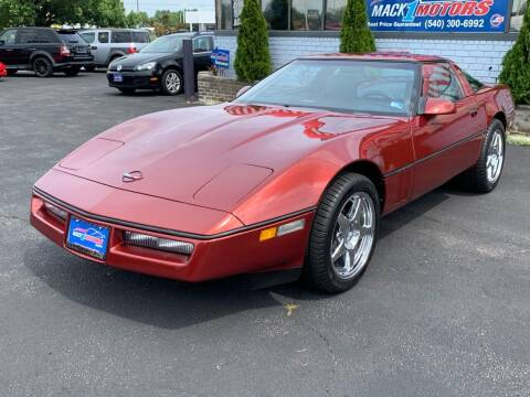 1988 Chevrolet Corvette for sale at Mack 1 Motors in Fredericksburg VA