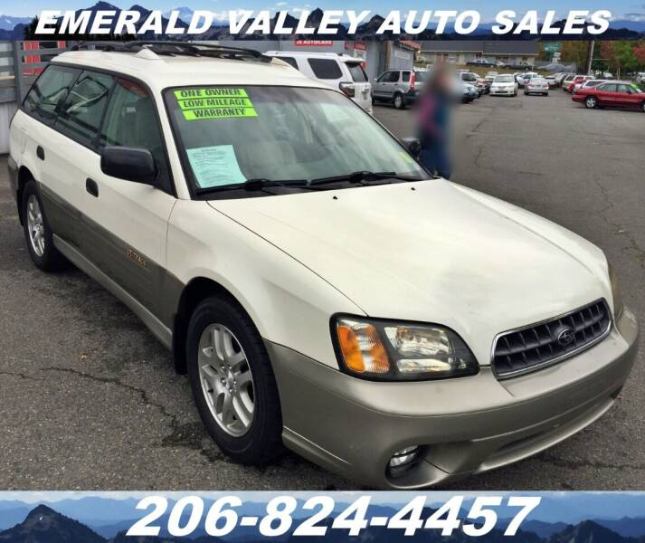 2003 Subaru Outback for sale at Emerald Valley Auto Sales in Des Moines WA