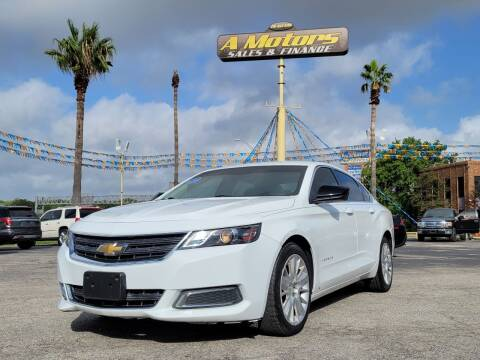 2015 Chevrolet Impala for sale at A MOTORS SALES AND FINANCE in San Antonio TX