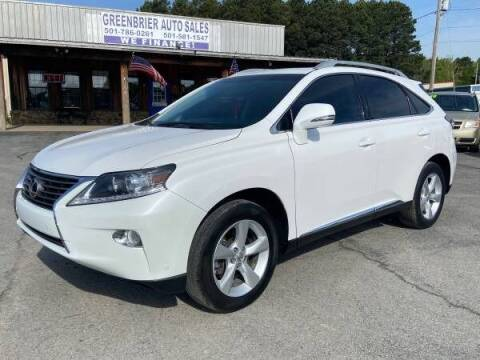 2014 Lexus RX 350 for sale at Greenbrier Auto Sales in Greenbrier AR