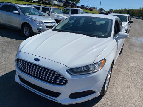 2014 Ford Fusion for sale at Ball Pre-owned Auto in Terra Alta WV