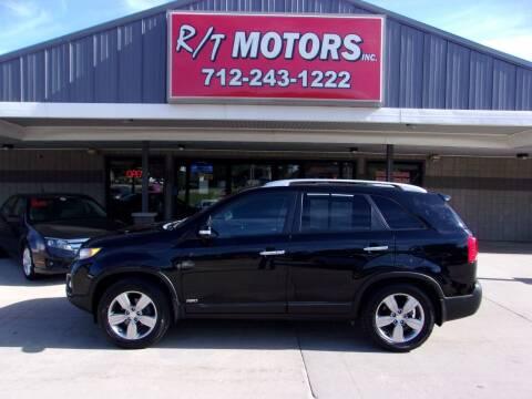 2012 Kia Sorento for sale at RT Motors Inc in Atlantic IA