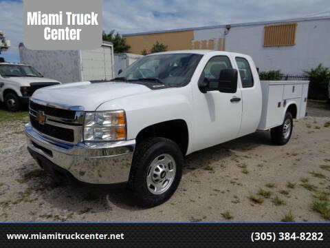 2013 Chevrolet Silverado 2500HD for sale at Miami Truck Center in Hialeah FL