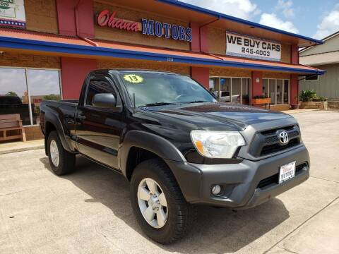 2013 Toyota Tacoma for sale at Ohana Motors in Lihue HI
