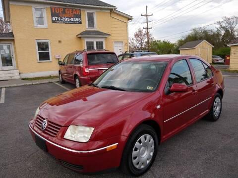 2005 Volkswagen Jetta for sale at Top Gear Motors in Winchester VA