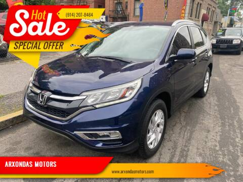 2015 Honda CR-V for sale at ARXONDAS MOTORS in Yonkers NY