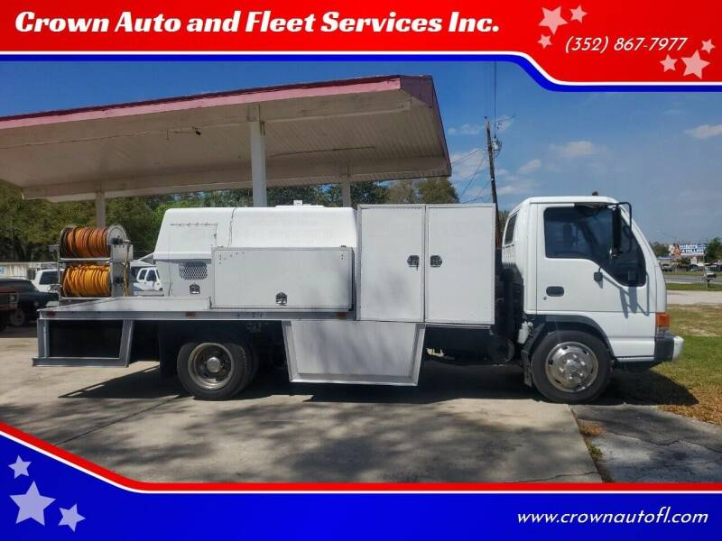 2002 Isuzu NQR for sale at Crown Auto and Fleet Services Inc. in Ocala FL