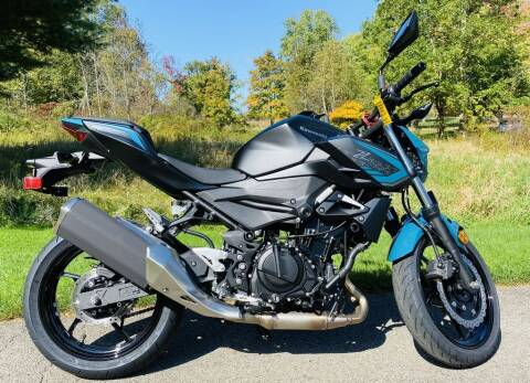 2021 Kawasaki Z400 ABS for sale at Street Track n Trail in Conneaut Lake PA