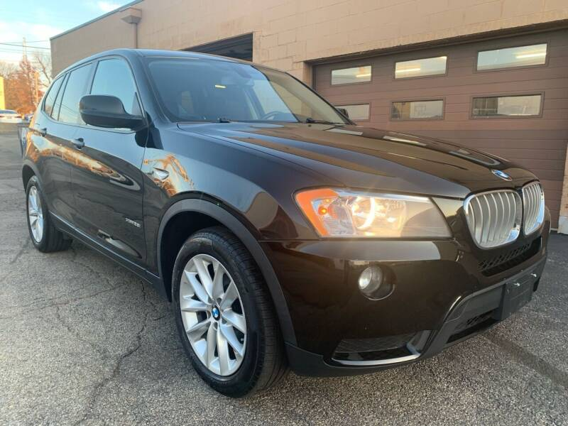 2013 BMW X3 for sale at Martys Auto Sales in Decatur IL