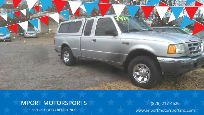 2002 Ford Ranger for sale at IMPORT MOTORSPORTS in Hickory NC