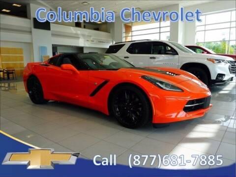 2019 Chevrolet Corvette for sale at COLUMBIA CHEVROLET in Cincinnati OH