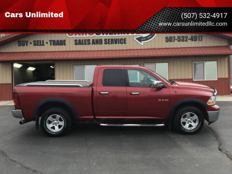 2010 Dodge Ram Pickup 1500 for sale at Cars Unlimited in Marshall MN