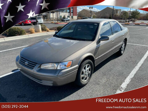 1999 Toyota Camry for sale at Freedom Auto Sales in Albuquerque NM