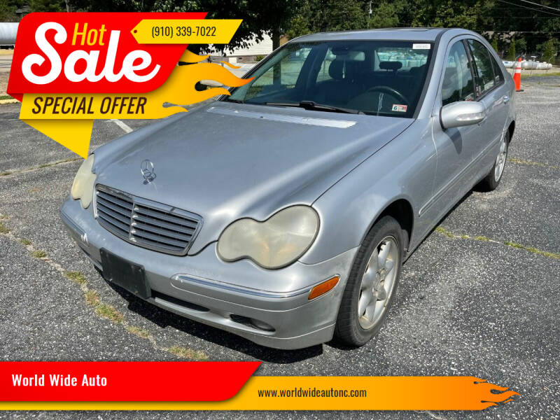 2002 Mercedes-Benz C-Class for sale at World Wide Auto in Fayetteville NC
