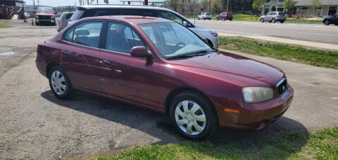 2001 Hyundai Elantra for sale at MGM Auto Sales in Cortland NY