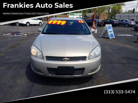 2010 Chevrolet Impala for sale at Frankies Auto Sales in Detroit MI