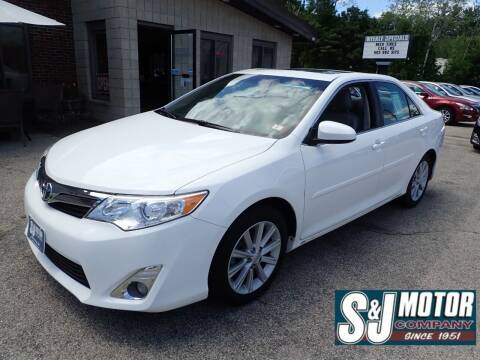 2014 Toyota Camry for sale at S & J Motor Co Inc. in Merrimack NH