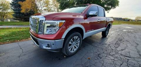 2019 Nissan Titan for sale at ZMC Auto Sales Inc. in Cedar Lake IN