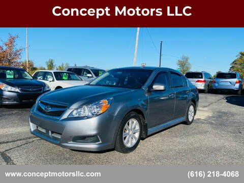 2010 Subaru Legacy for sale at Concept Motors LLC in Holland MI