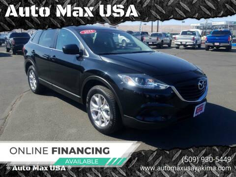 2015 Mazda CX-9 for sale at Auto Max USA in Yakima WA