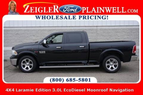 2016 RAM Ram Pickup 1500 for sale at Zeigler Ford of Plainwell- Jeff Bishop in Plainwell MI