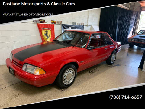 1992 Ford Mustang for sale at Fastlane Motorsports & Classic Cars in Addison IL