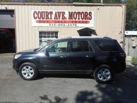 2010 Saturn Outlook for sale at Court Avenue Motors in Adel IA