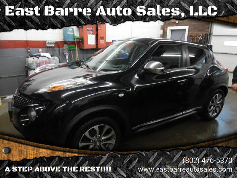 2011 Nissan JUKE for sale at East Barre Auto Sales, LLC in East Barre VT