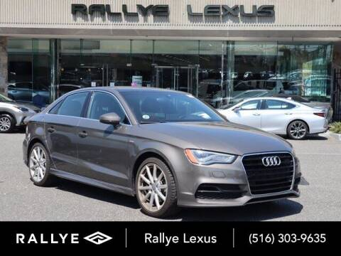 2015 Audi A3 for sale at RALLYE LEXUS in Glen Cove NY