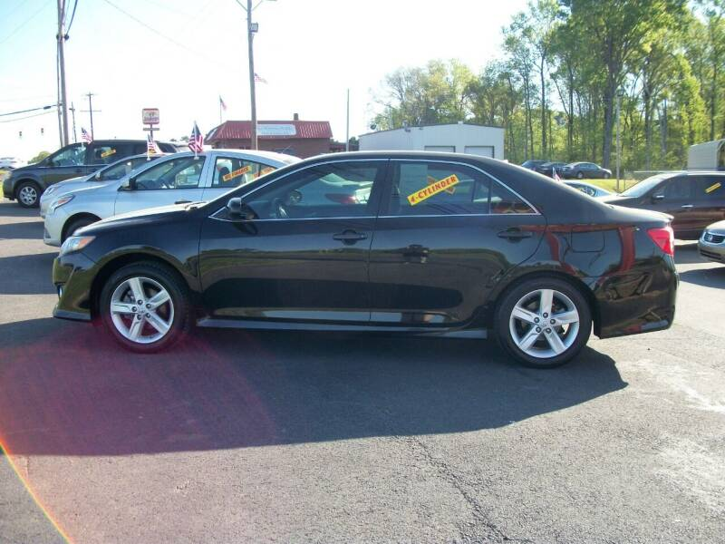 2014 Toyota Camry for sale at Lentz's Auto Sales in Albemarle NC