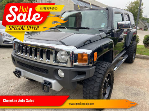2008 HUMMER H3 for sale at Cherokee Auto Sales in Acworth GA