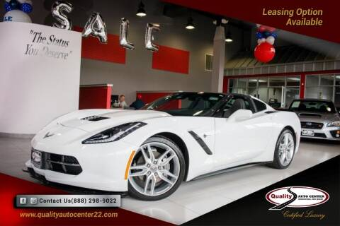 2019 Chevrolet Corvette for sale at Quality Auto Center of Springfield in Springfield NJ