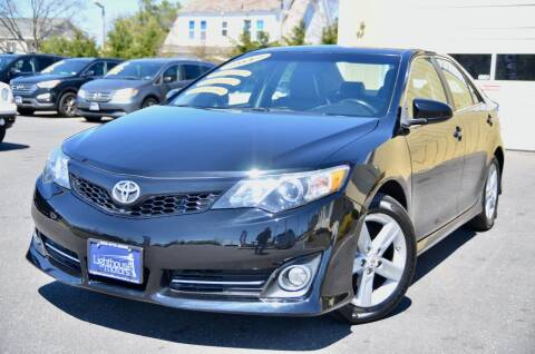 2012 Toyota Camry for sale at Lighthouse Motors Inc. in Pleasantville NJ