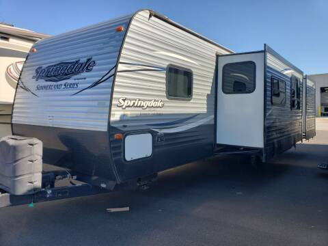 2018 Keystone springdale 303BH for sale at Ultimate RV in White Settlement TX