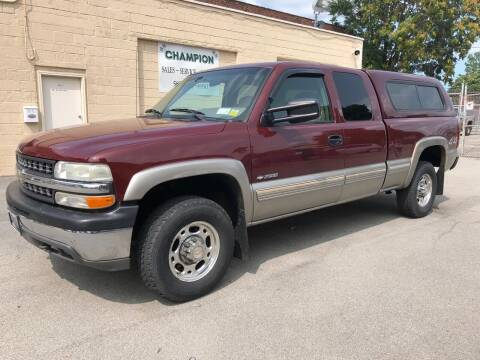 1999 Chevrolet Silverado 2500 for sale at Champion Auto Sales II INC in Rochester NY
