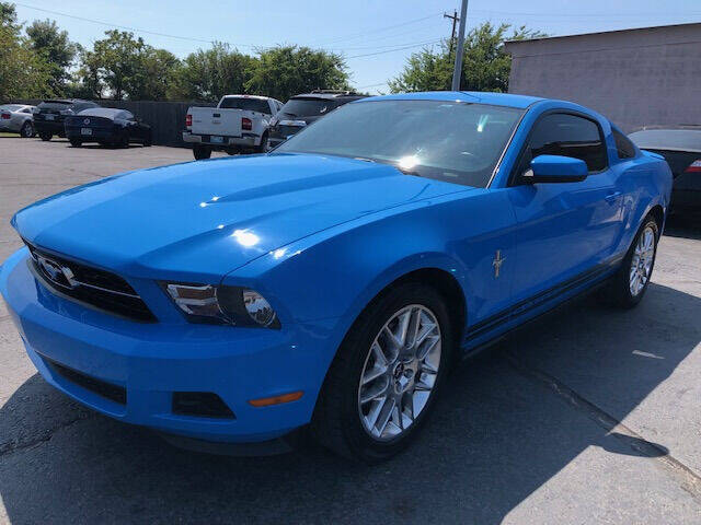 2012 Ford Mustang for sale at Kasterke Auto Mart Inc in Shawnee OK