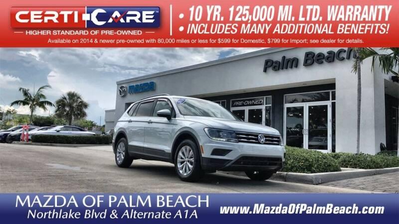 2018 Volkswagen Tiguan for sale in North Palm Beach, FL