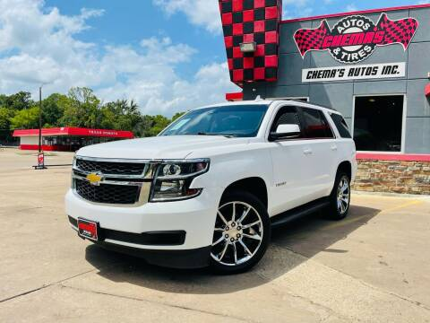 2015 Chevrolet Tahoe for sale at Chema's Autos & Tires in Tyler TX